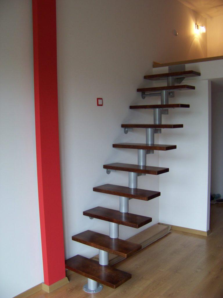 schody na antresolę oleba