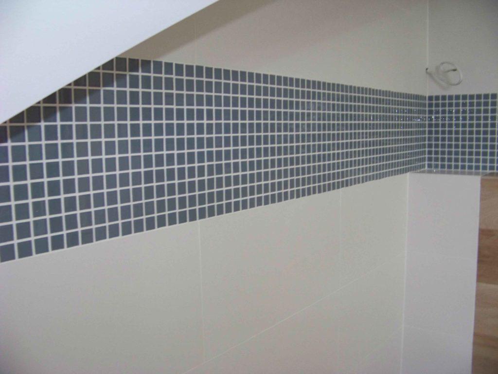 mozaika między glazurą