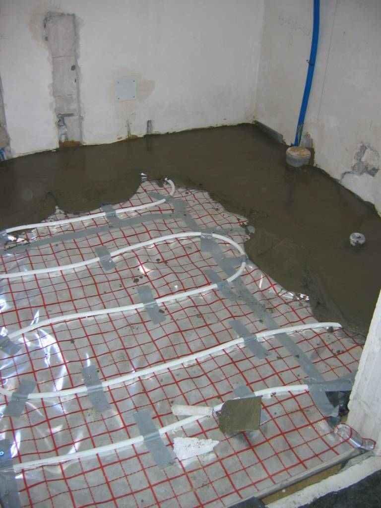 ogrzewania podłogowe wodne
