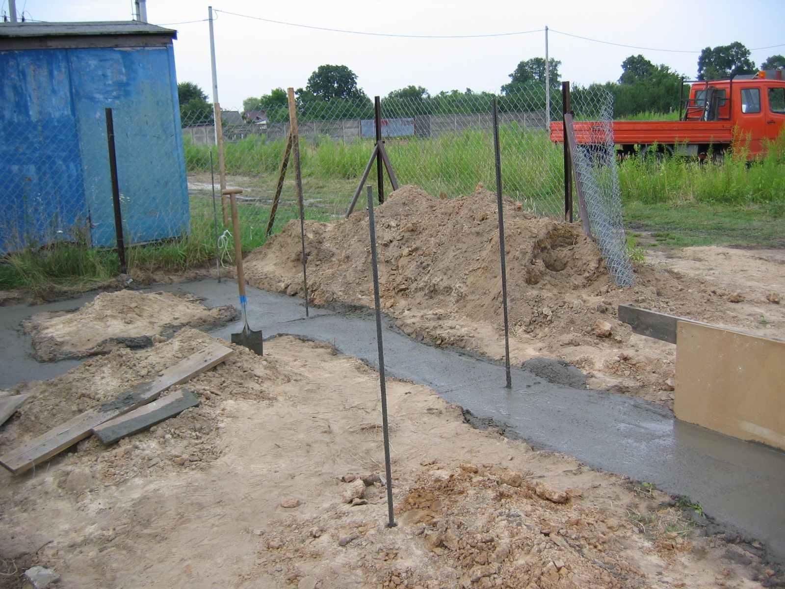 fundament ogrodzenia