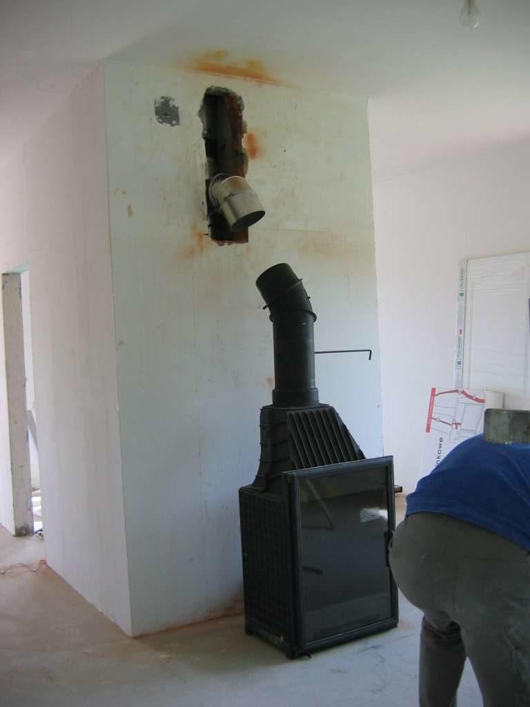 pasowanie wkładu do komina