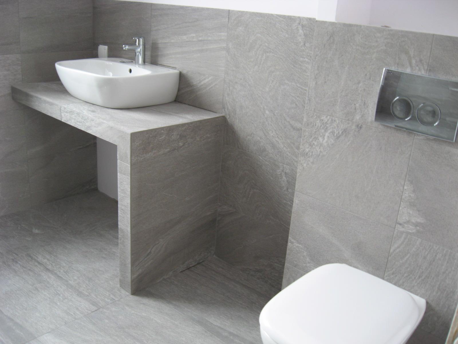 łazienka z gresu lux