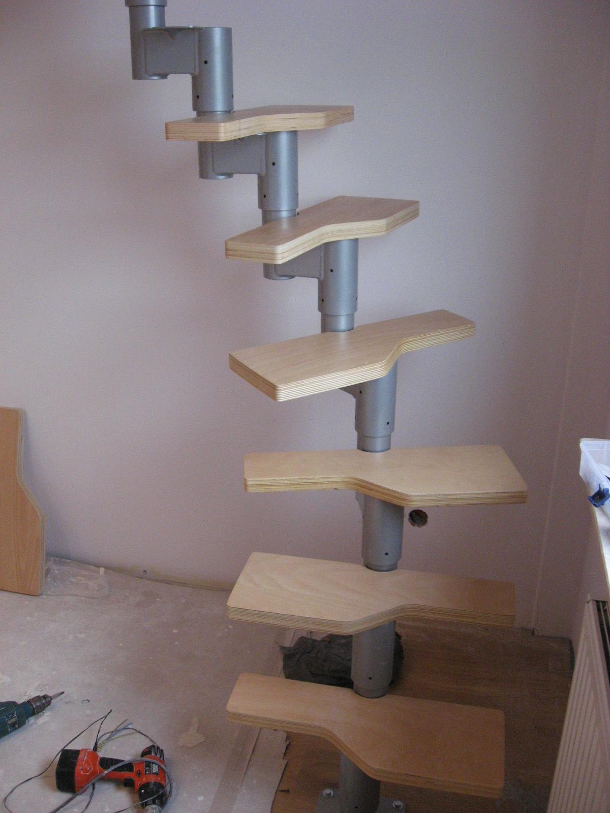 schody system na antresole