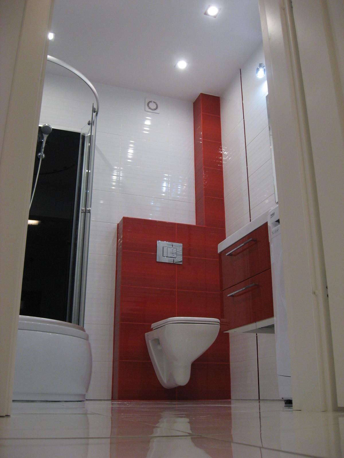 Ładna ekonomiczna łazienka