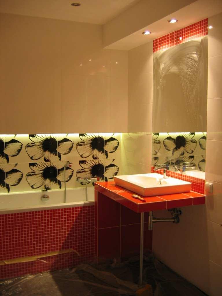 Łazienka trzy kolory