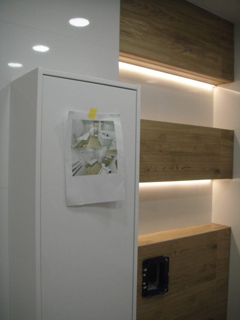 projekt łazienki wykonanie