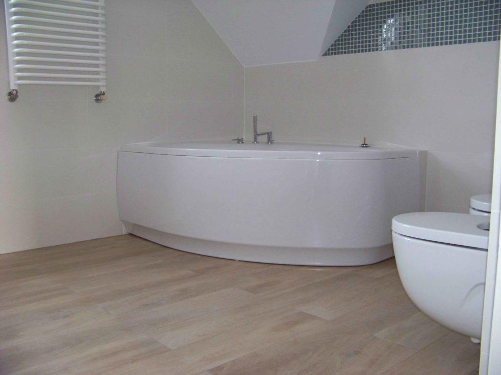widok łazienki