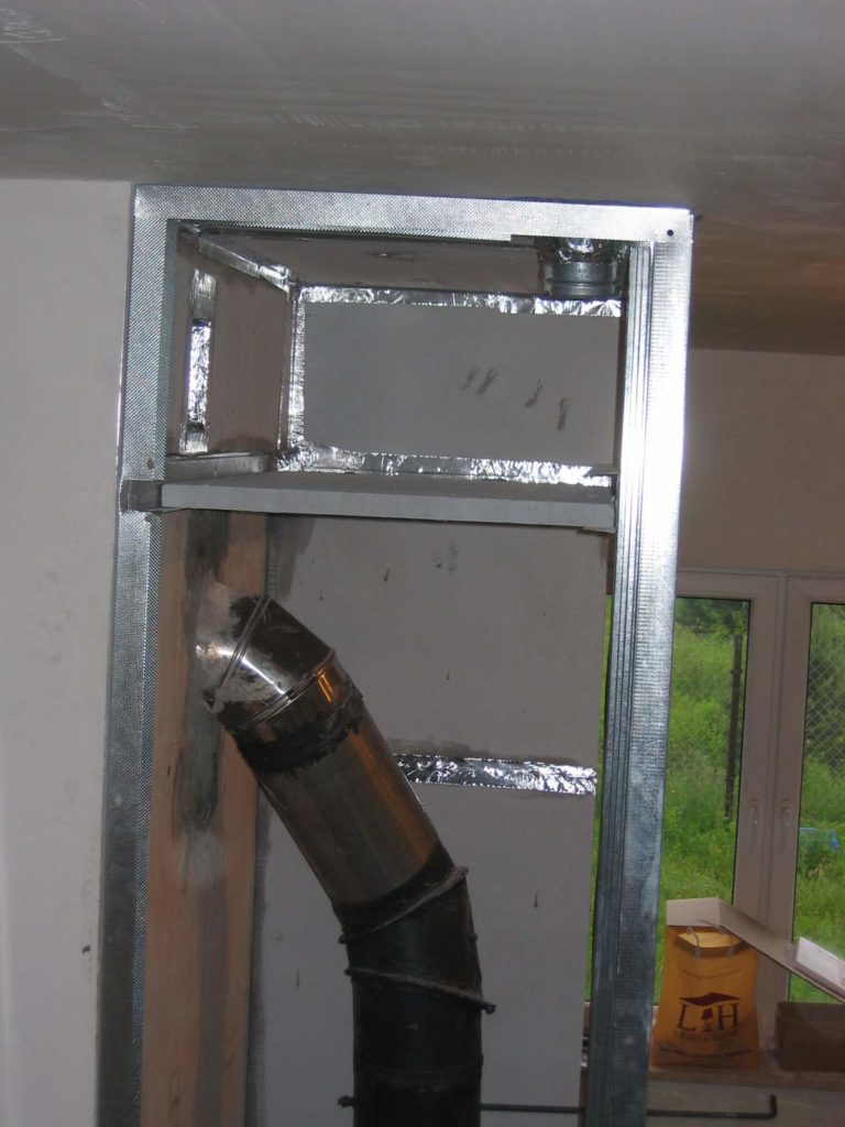 komora kominek krok po kroku instalacja