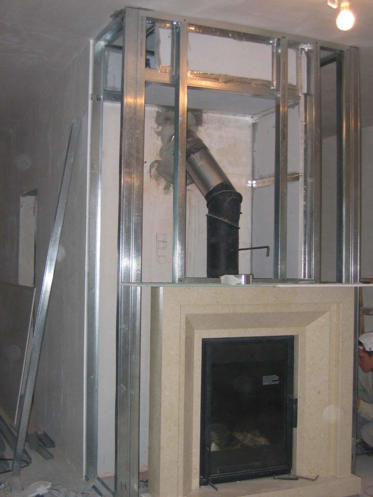 kominek krok po kroku instalacja