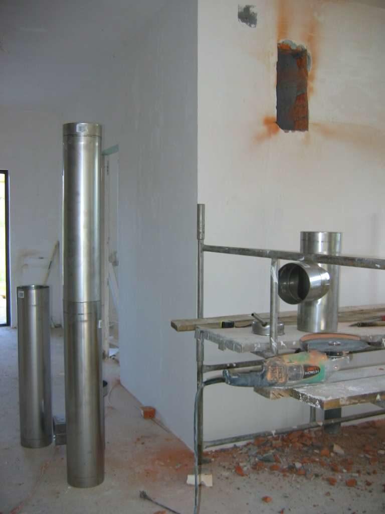 wkład kominowe z blachy kwasowej