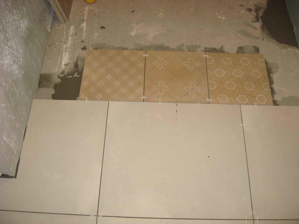 układanie terakoty w łazience