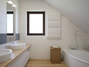 Укладка плитки, ремонт ванных комнат