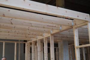 Деревянные потолки. Строительство