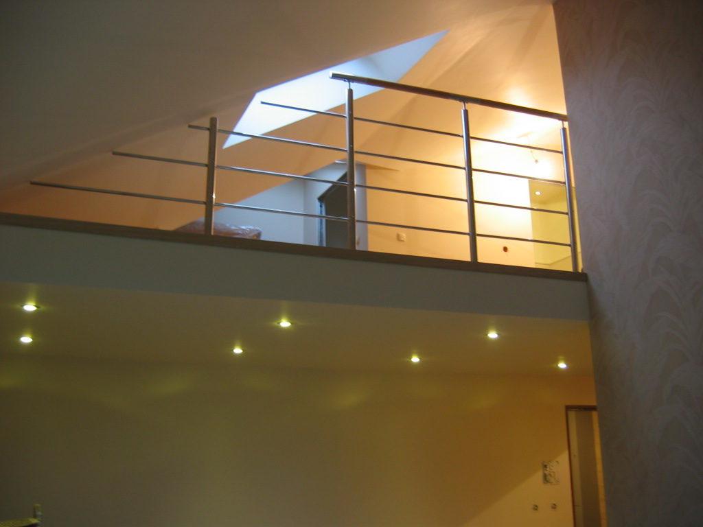 Antresola oraz wykończenie mieszkania – Anin