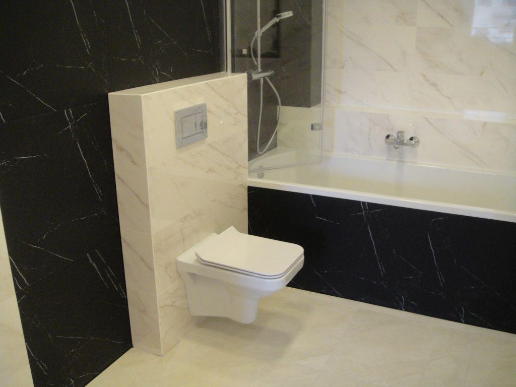 łazienka z gresu wc