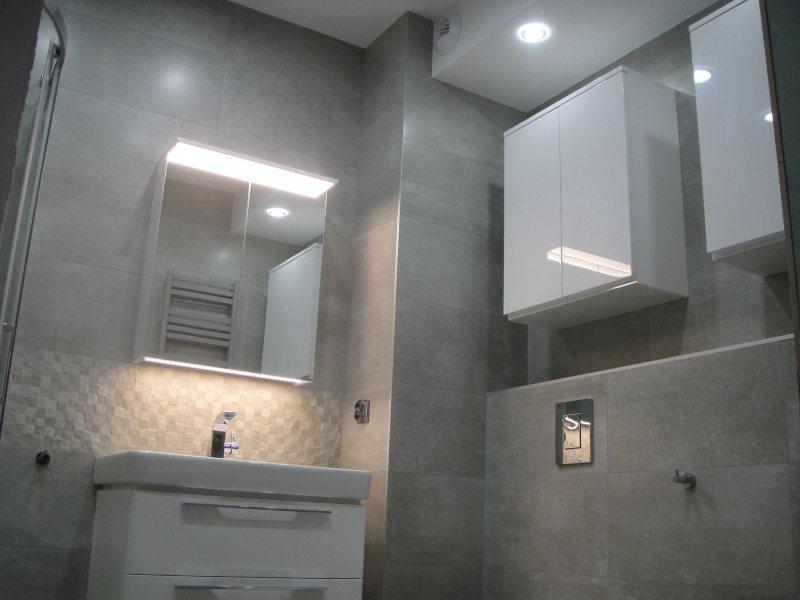Wykończenie łazienki styl nowoczesny