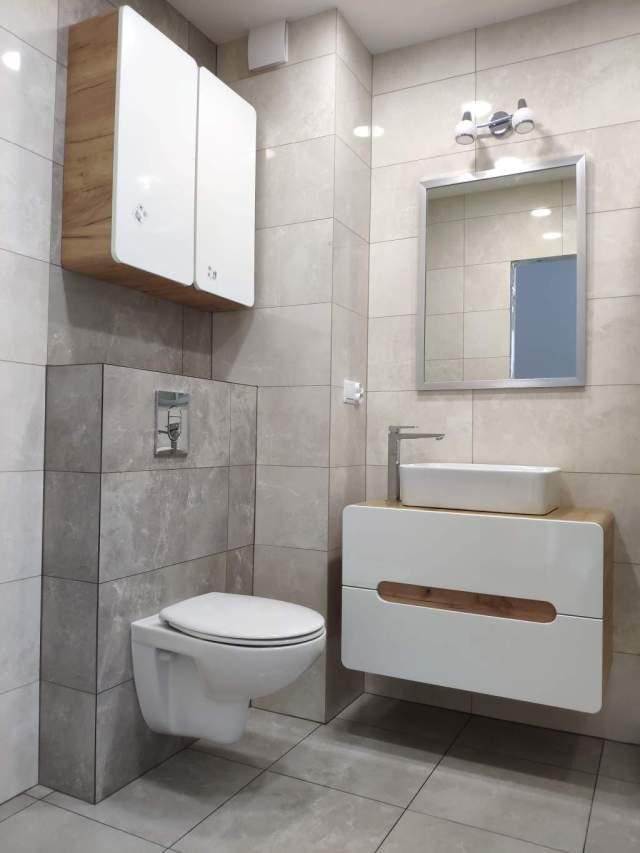 Ekonomiczna łazienka w Bloku