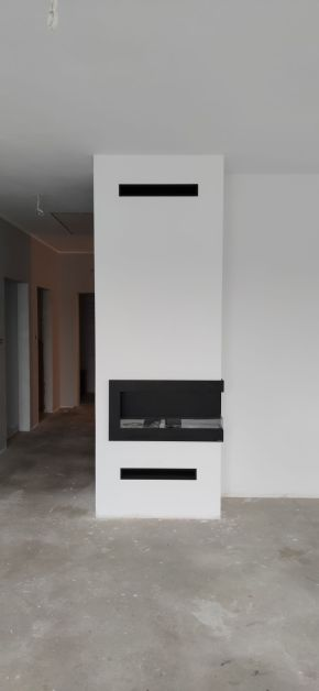 BIO kominek budowa instalacja montaż